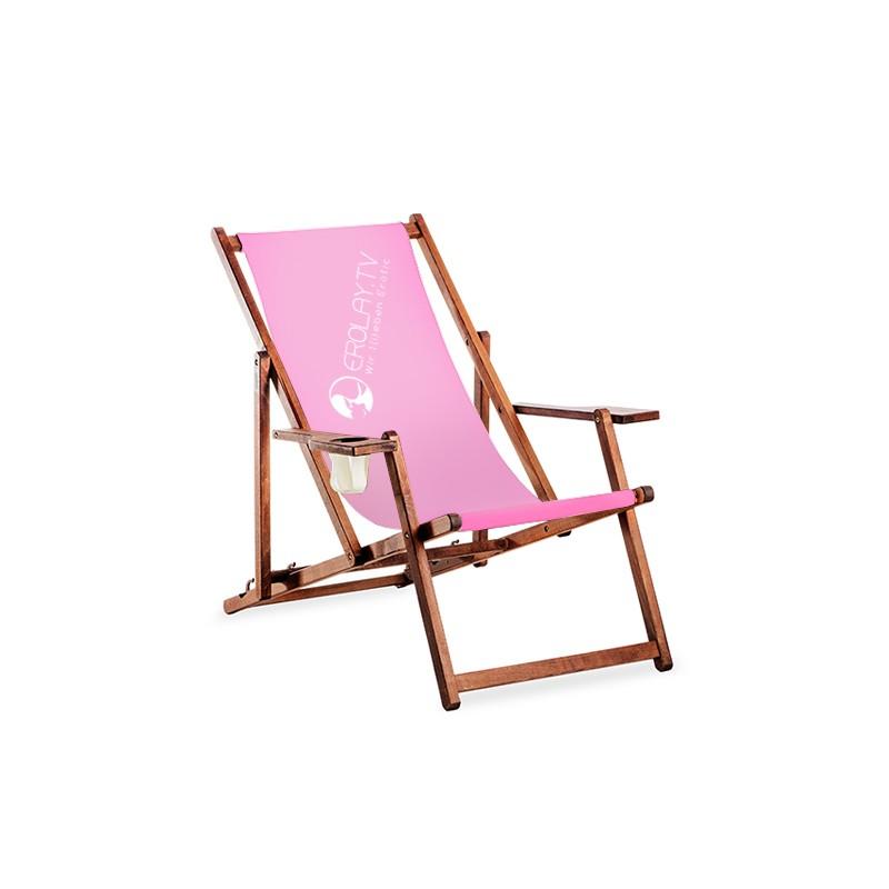 liegestuhl mit armlehne und bedruckbaren bezugsstoff. Black Bedroom Furniture Sets. Home Design Ideas
