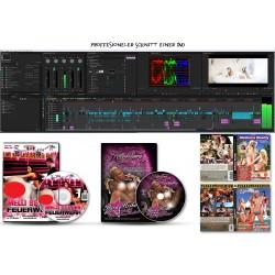 Professioneller DVD Videoschnitt