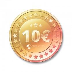 Auftragsarbeit 10 €
