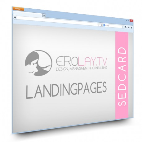 Sedcard Landing Page